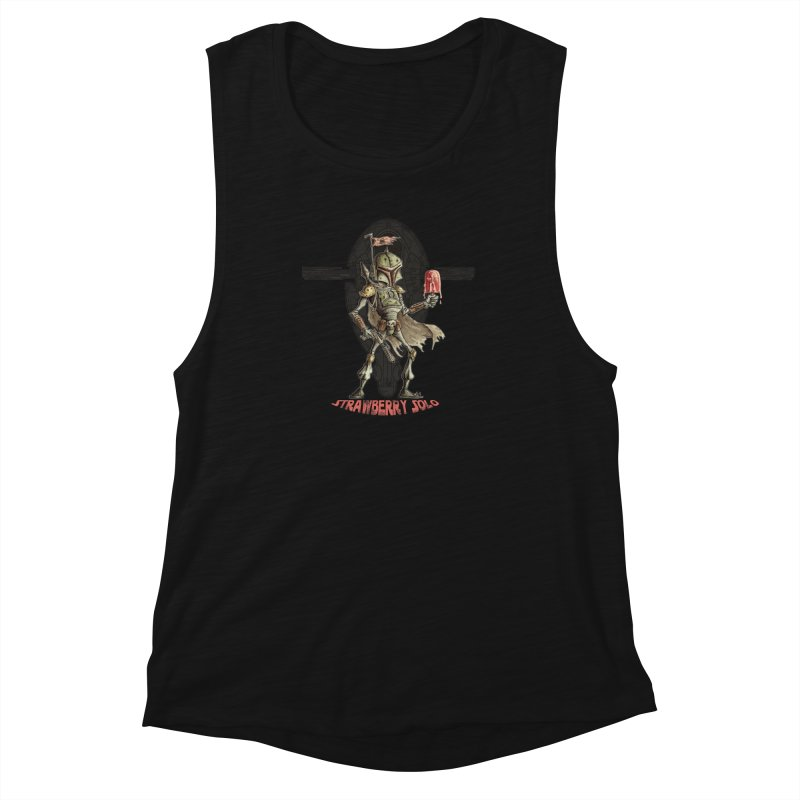 Strawberry Solo Women's Muscle Tank by Pickled Circus
