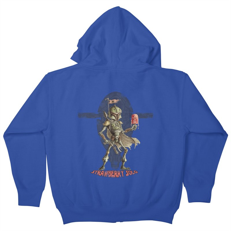 Strawberry Solo Kids Zip-Up Hoody by Pickled Circus