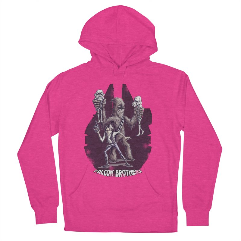Falcon Brothers Men's French Terry Pullover Hoody by Pickled Circus