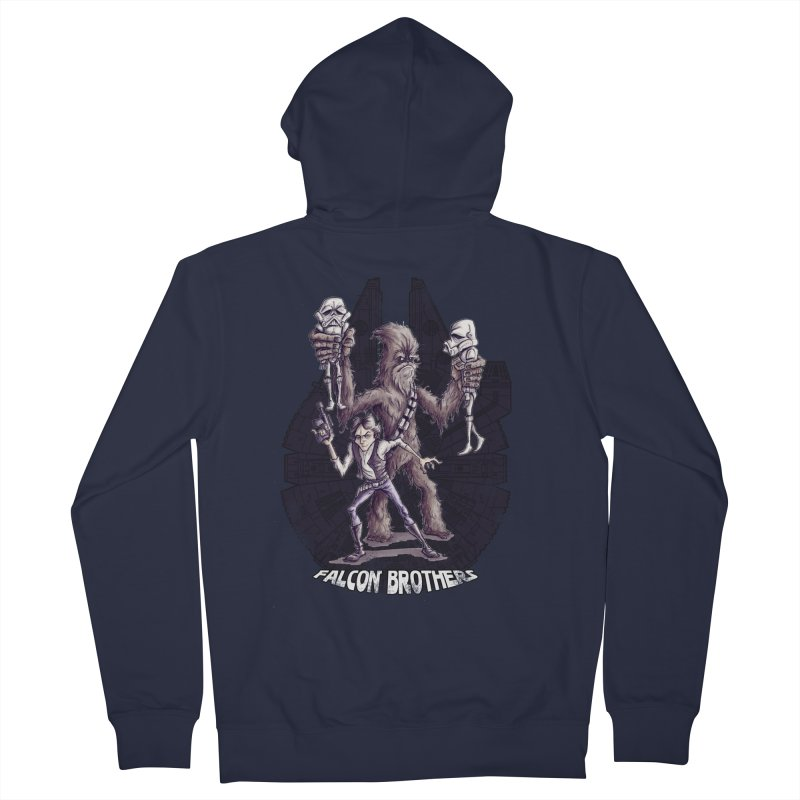 Falcon Brothers Women's Zip-Up Hoody by Pickled Circus