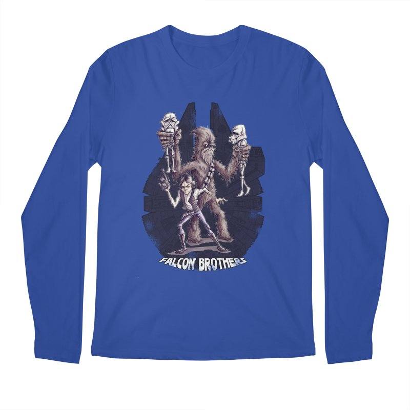 Falcon Brothers Men's Longsleeve T-Shirt by Pickled Circus