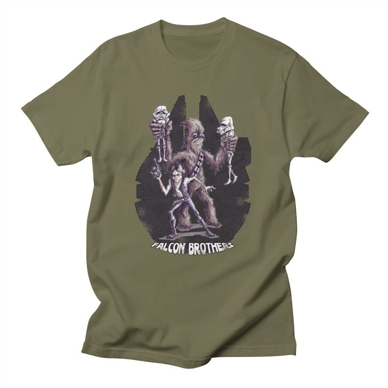 Falcon Brothers Men's T-shirt by Pickled Circus
