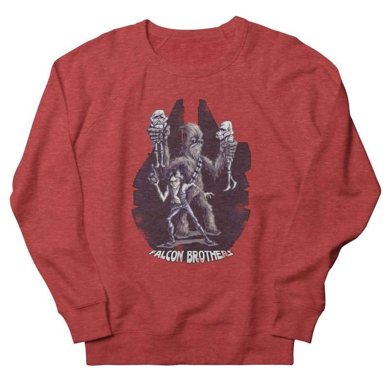 Falcon Brothers Women's Sweatshirt by Pickled Circus