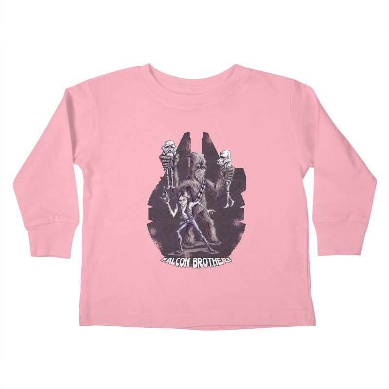 Falcon Brothers Kids Toddler Longsleeve T-Shirt by Pickled Circus