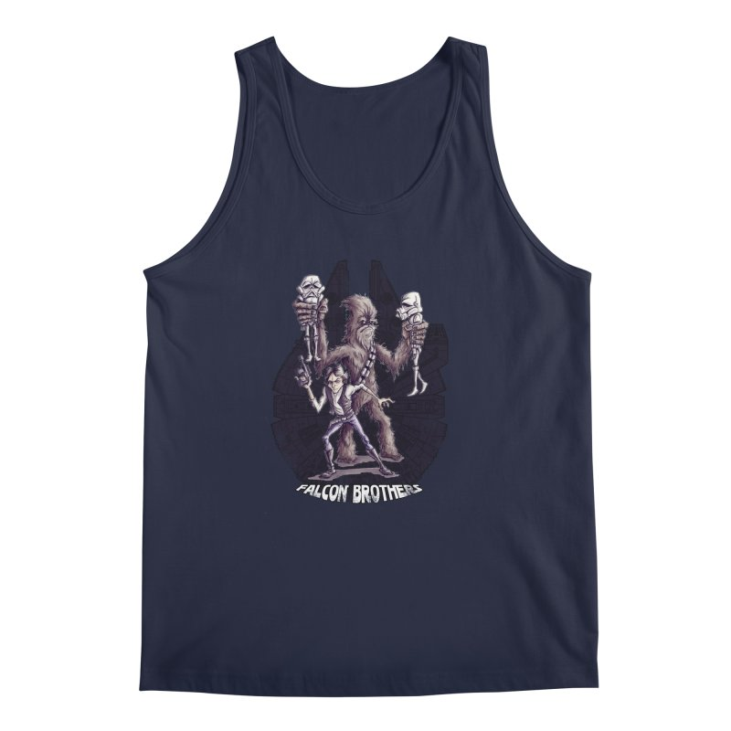 Falcon Brothers Men's Regular Tank by Pickled Circus