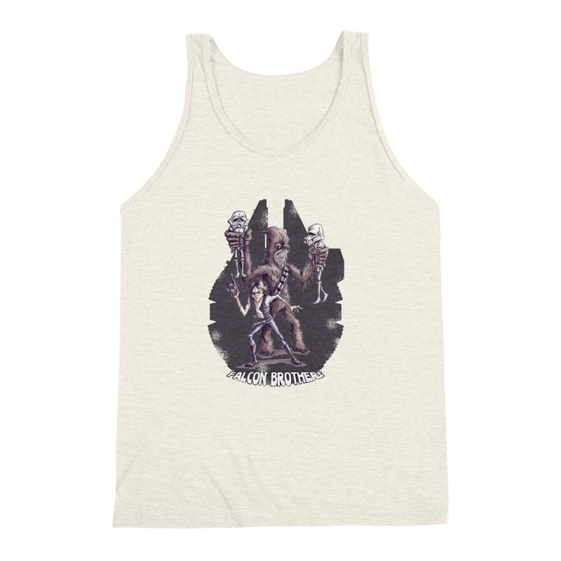 Falcon Brothers Men's Triblend Tank by Pickled Circus