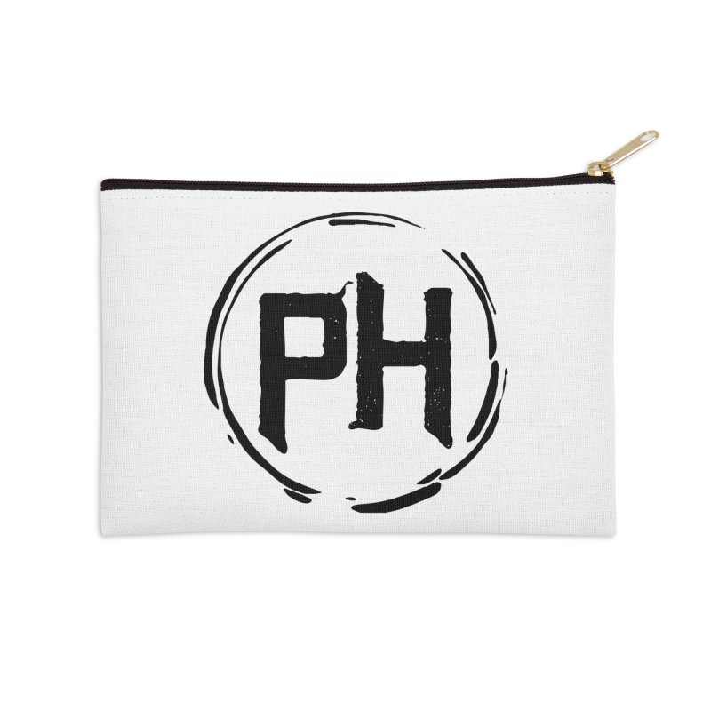 PH - chest ** Black ** Accessories Zip Pouch by Piehouse Six's Shop