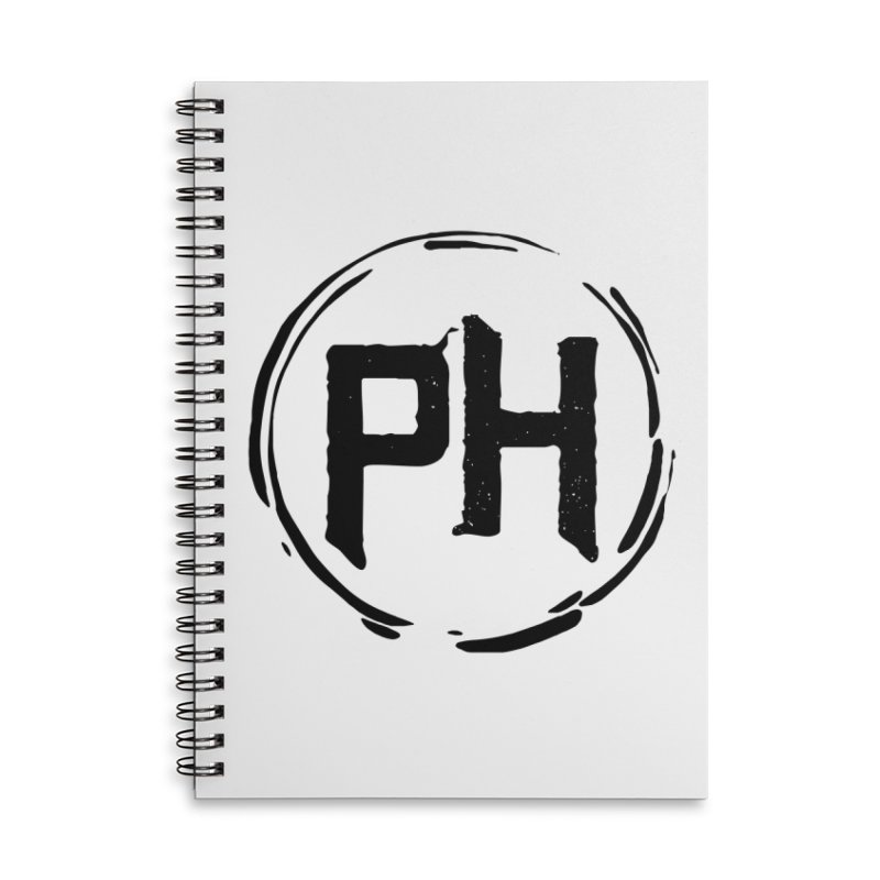PH - chest ** Black ** Accessories Notebook by Piehouse Six's Shop