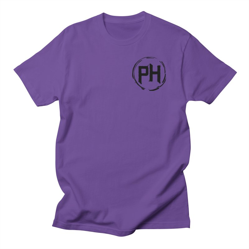 PH - chest ** Black ** Men's T-Shirt by Piehouse Six's Shop