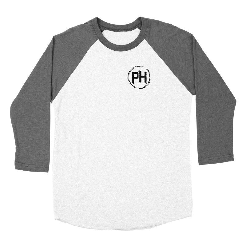 PH - chest ** Black ** Women's Longsleeve T-Shirt by Piehouse Six's Shop