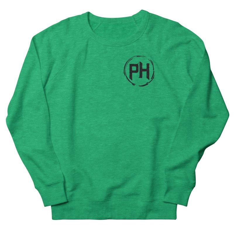 PH - chest ** Black ** Women's Sweatshirt by Piehouse Six's Shop