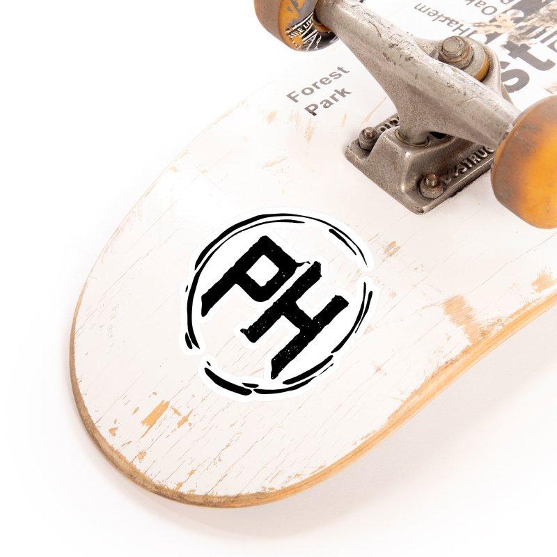 PH - chest ** Black ** Accessories Sticker by Piehouse Six's Shop