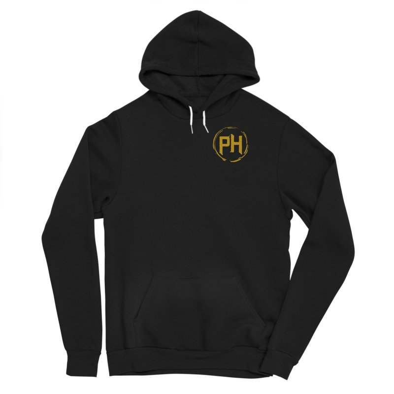PH - chest ** Gold ** Men's Pullover Hoody by Piehouse Six's Shop