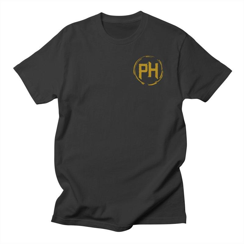PH - chest ** Gold ** Men's T-Shirt by Piehouse Six's Shop