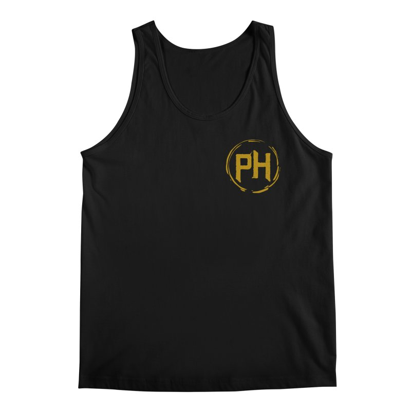 PH - chest ** Gold ** Men's Tank by Piehouse Six's Shop