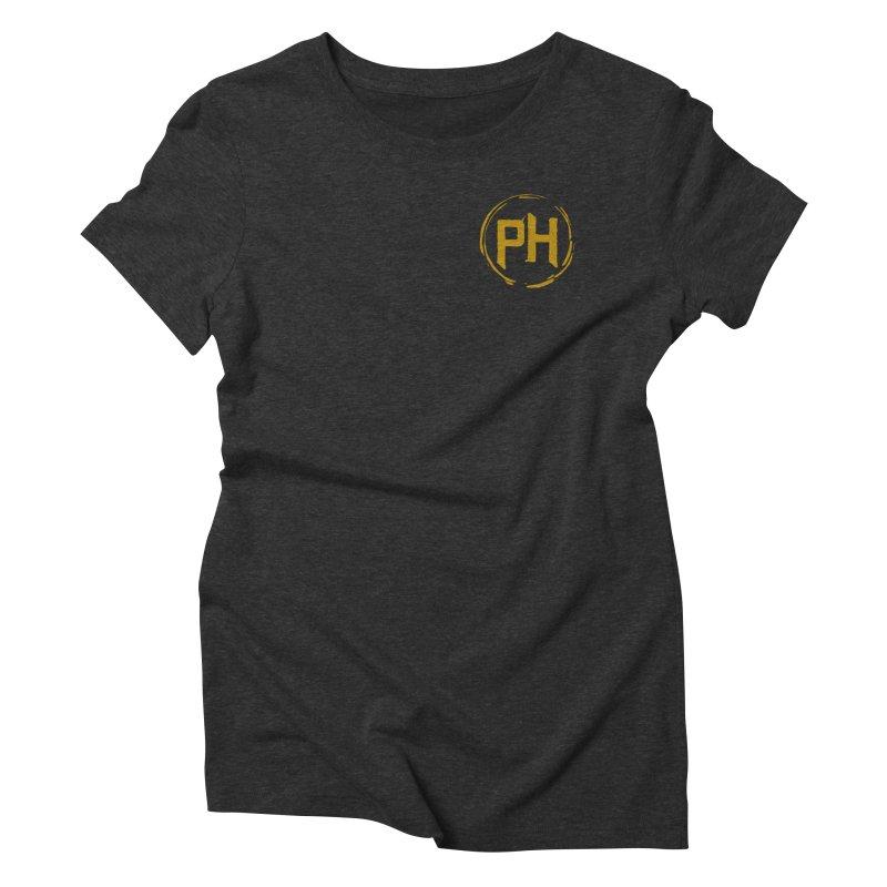 PH - chest ** Gold ** Women's T-Shirt by Piehouse Six's Shop