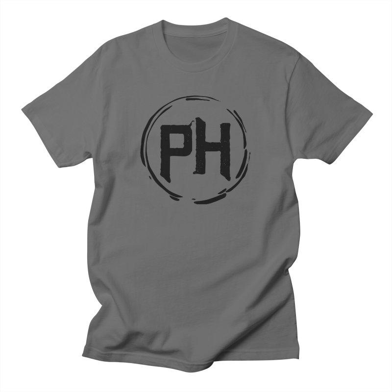 PH - Go BIG! ** Black ** Men's T-Shirt by Piehouse Six's Shop