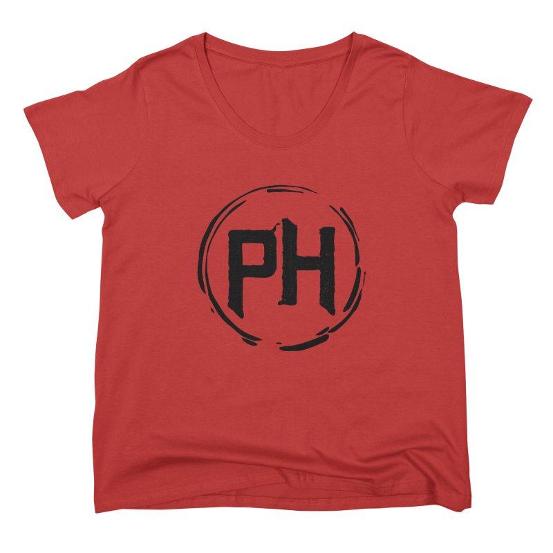 PH - Go BIG! ** Black ** Women's Scoop Neck by Piehouse Six's Shop