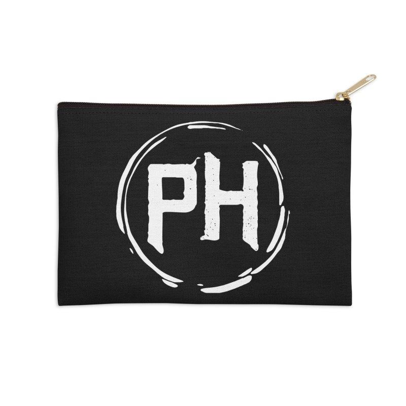 PH - Go BIG! ** White ** Accessories Zip Pouch by Piehouse Six's Shop