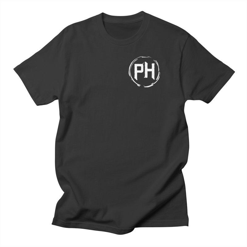 PH - chest ** White ** Men's T-Shirt by Piehouse Six's Shop