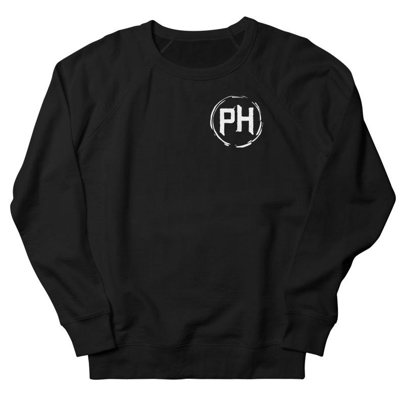 PH - chest ** White ** Men's Sweatshirt by Piehouse Six's Shop