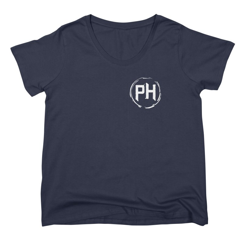 PH - chest ** White ** Women's Scoop Neck by Piehouse Six's Shop