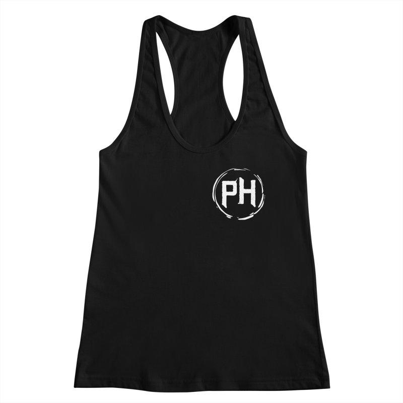 PH - chest ** White ** Women's Tank by Piehouse Six's Shop