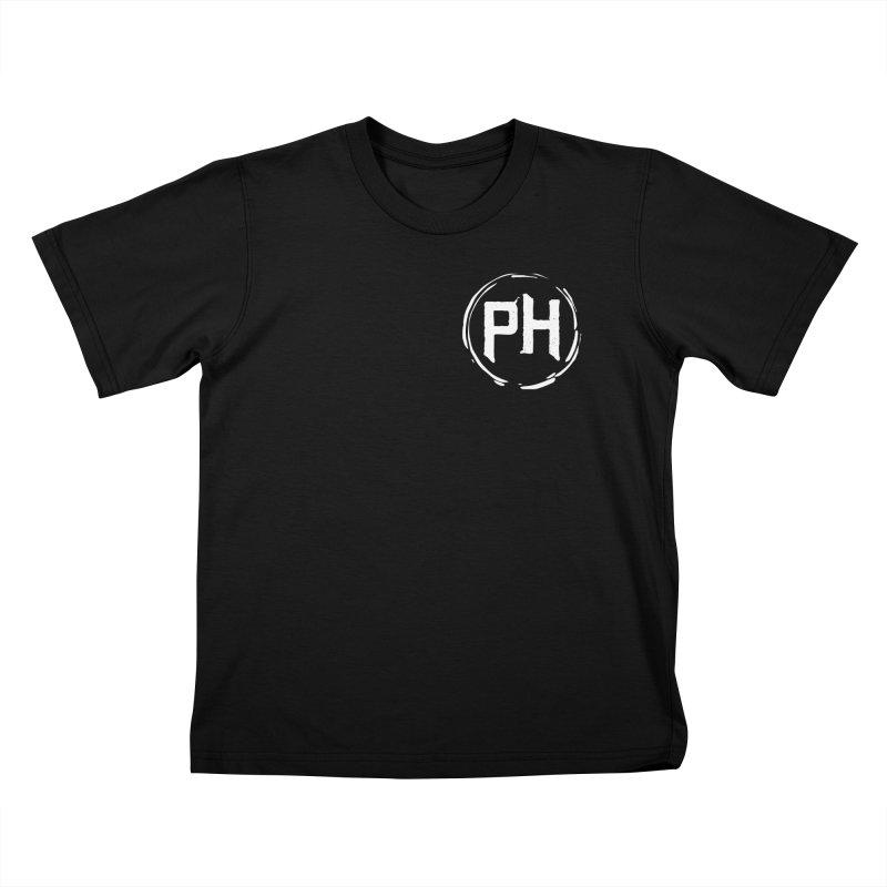 PH - chest ** White ** Kids T-Shirt by Piehouse Six's Shop