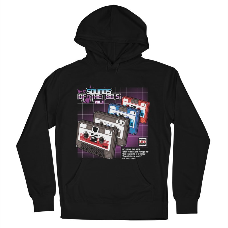 Sounds of the 80s vol. 1 Women's Pullover Hoody by Pinteezy's Artist Shop