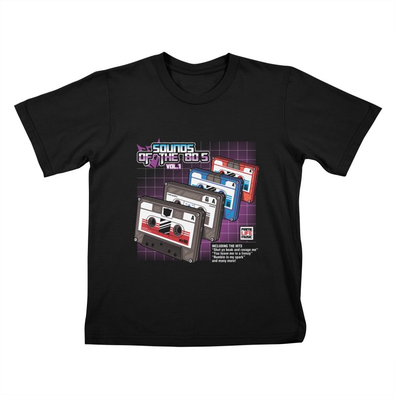 Sounds of the 80s vol. 1 Kids T-Shirt by Pinteezy's Artist Shop