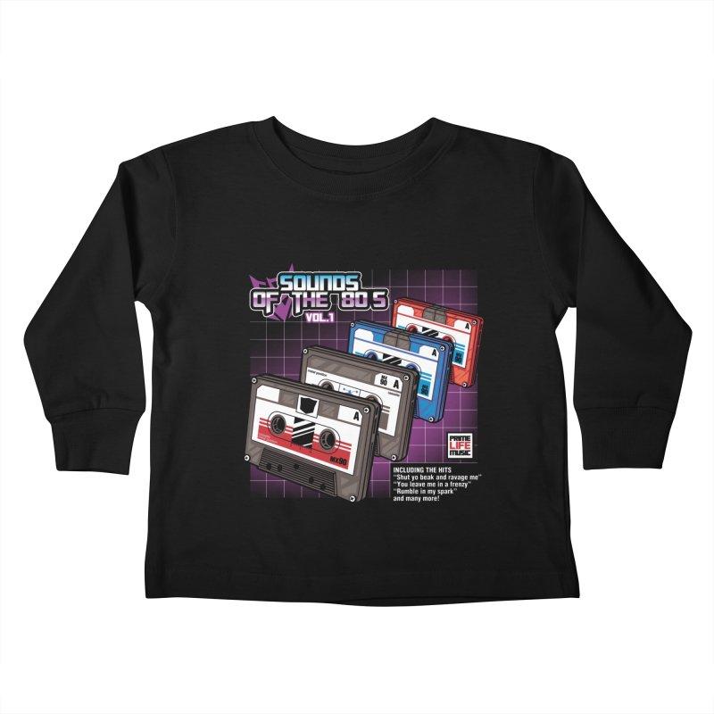 Sounds of the 80s vol. 1 Kids Toddler Longsleeve T-Shirt by Pinteezy's Artist Shop