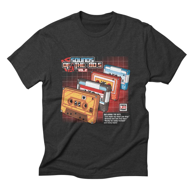 Sounds of the 80s Vol. 2 Men's Triblend T-Shirt by Pinteezy's Artist Shop
