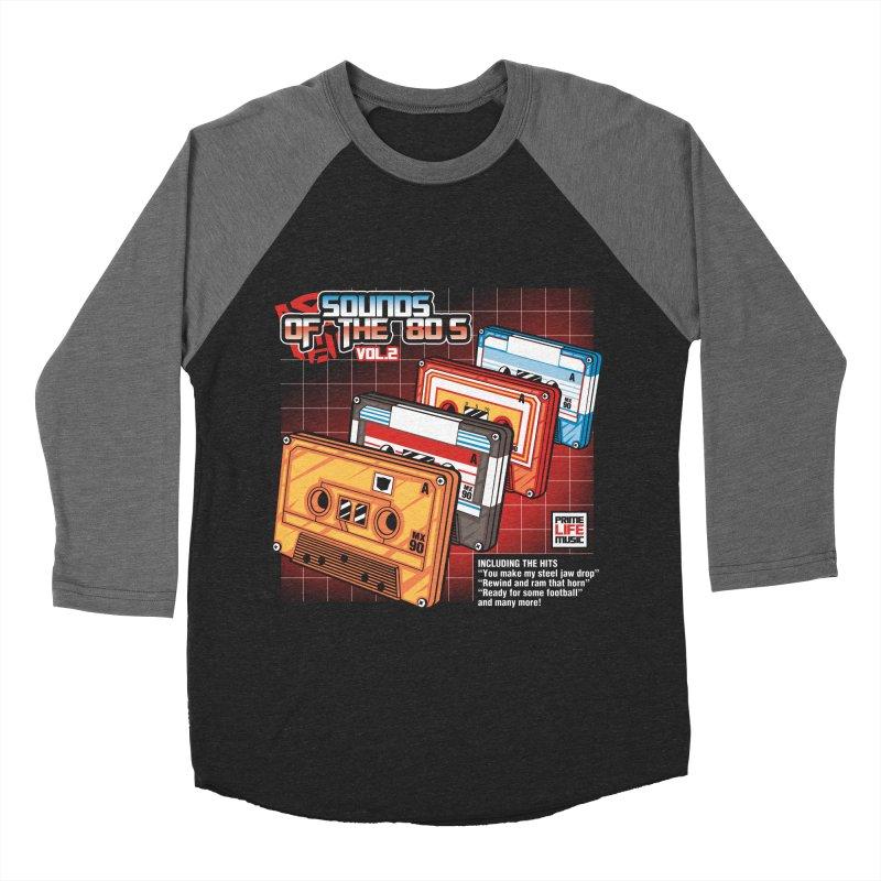 Sounds of the 80s Vol. 2 Men's Baseball Triblend T-Shirt by Pinteezy's Artist Shop
