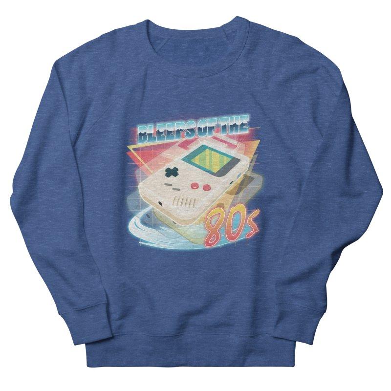 Bleeps of the 80s Men's Sweatshirt by Pinteezy's Artist Shop