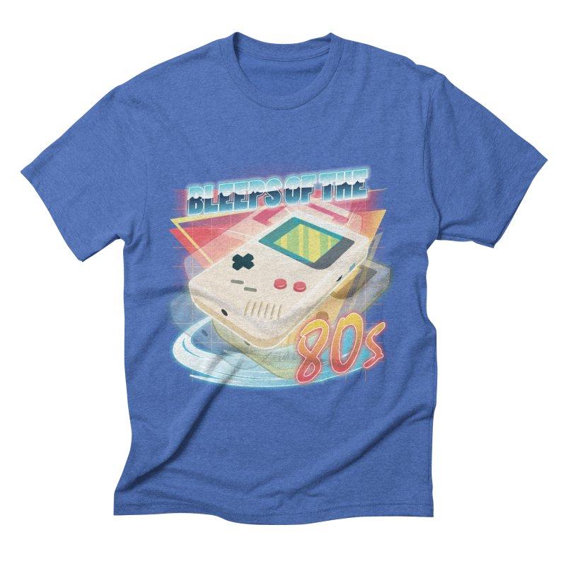 Bleeps of the 80s Men's Triblend T-shirt by Pinteezy's Artist Shop