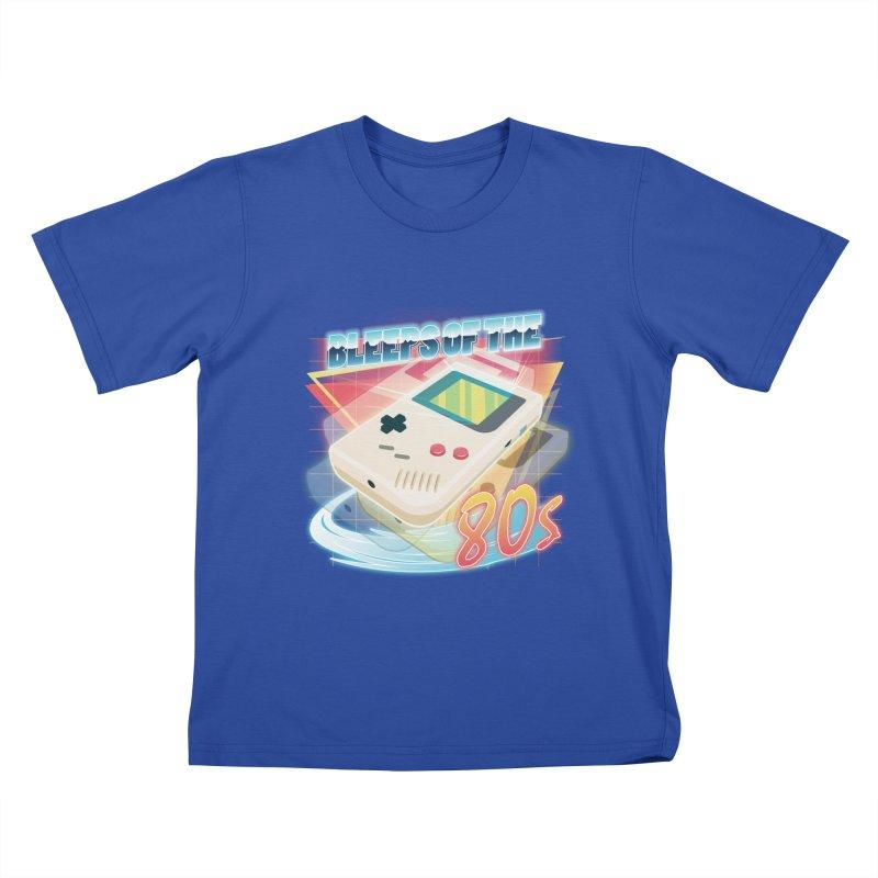 Bleeps of the 80s Kids T-shirt by Pinteezy's Artist Shop