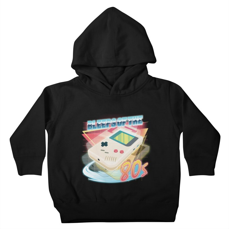 Bleeps of the 80s Kids Toddler Pullover Hoody by Pinteezy's Artist Shop