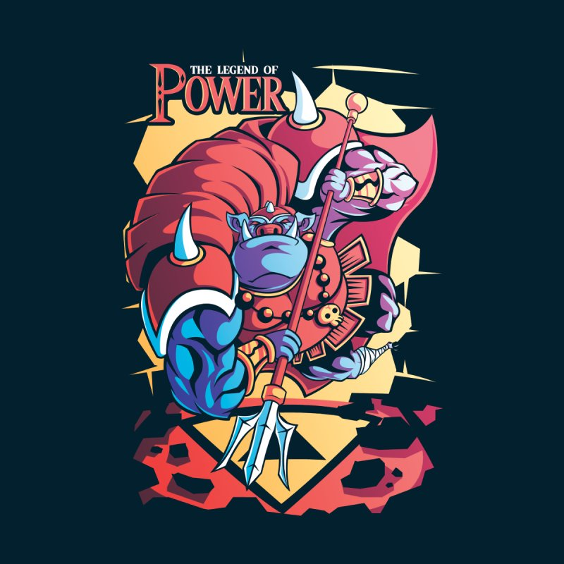 The Legend Of Power None  by Pinteezy's Artist Shop