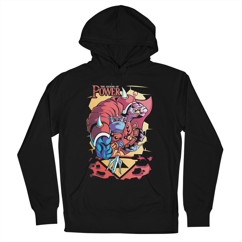 The Legend Of Power Women's Pullover Hoody by Pinteezy's Artist Shop