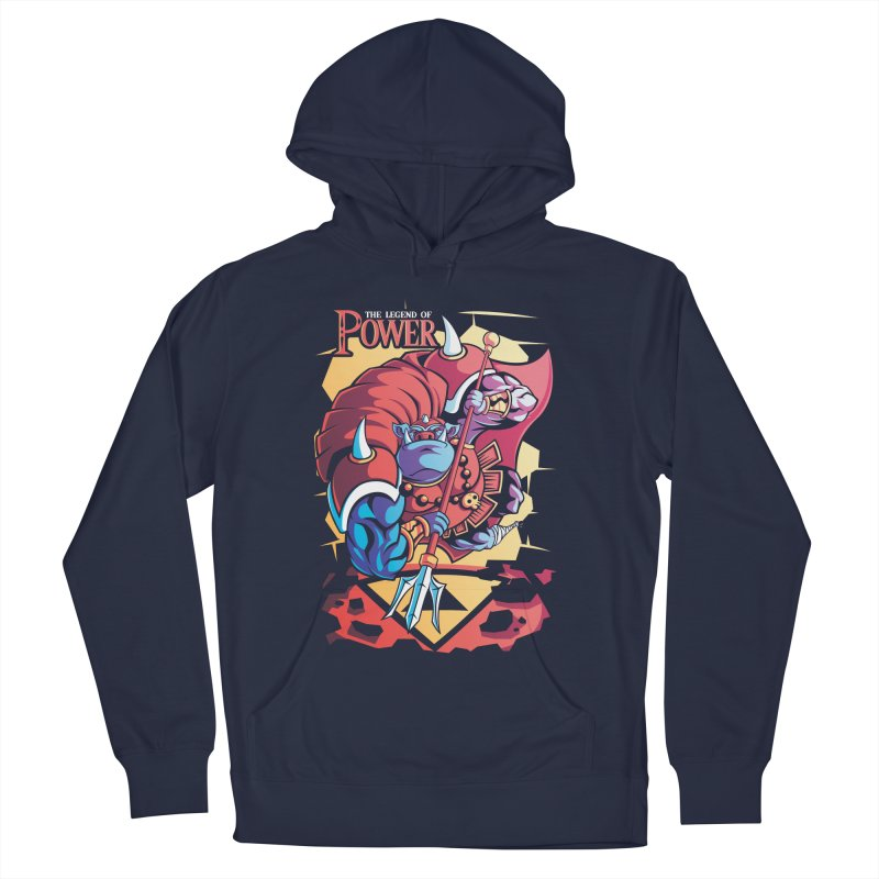 The Legend Of Power Men's Pullover Hoody by Pinteezy's Artist Shop