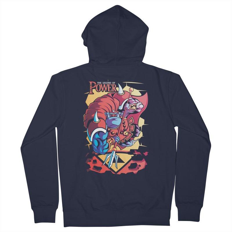 The Legend Of Power Men's Zip-Up Hoody by Pinteezy's Artist Shop