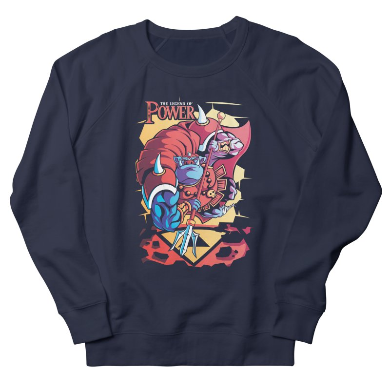 The Legend Of Power Men's Sweatshirt by Pinteezy's Artist Shop