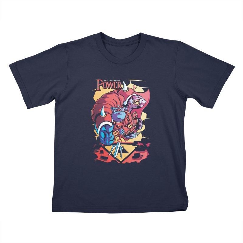 The Legend Of Power Kids T-shirt by Pinteezy's Artist Shop