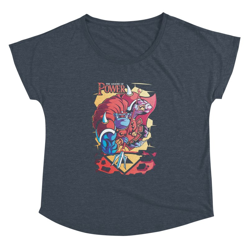 The Legend Of Power Women's Dolman by Pinteezy's Artist Shop