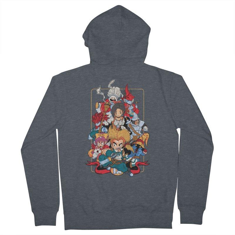Fantasy Quest IX Men's Zip-Up Hoody by Pinteezy's Artist Shop