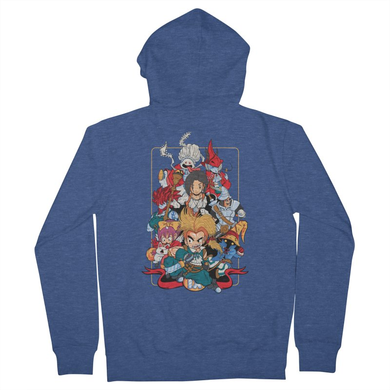Fantasy Quest IX Men's Zip-Up Hoody by Pinteezy's Artist Shop