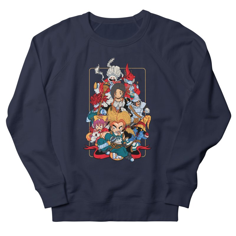 Fantasy Quest IX Men's Sweatshirt by Pinteezy's Artist Shop