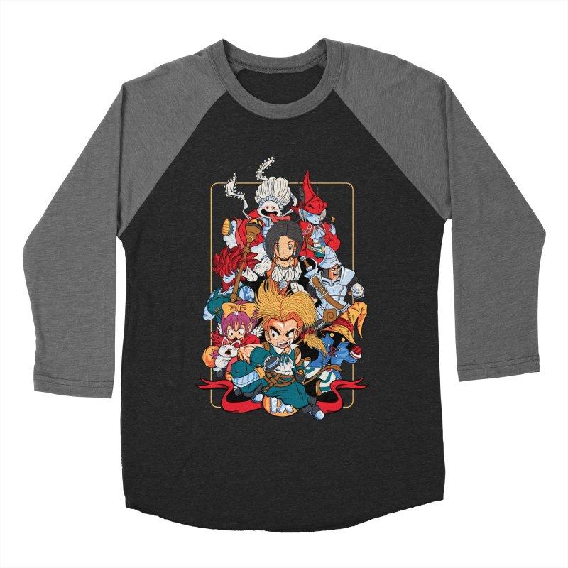 Fantasy Quest IX Women's Baseball Triblend T-Shirt by Pinteezy's Artist Shop