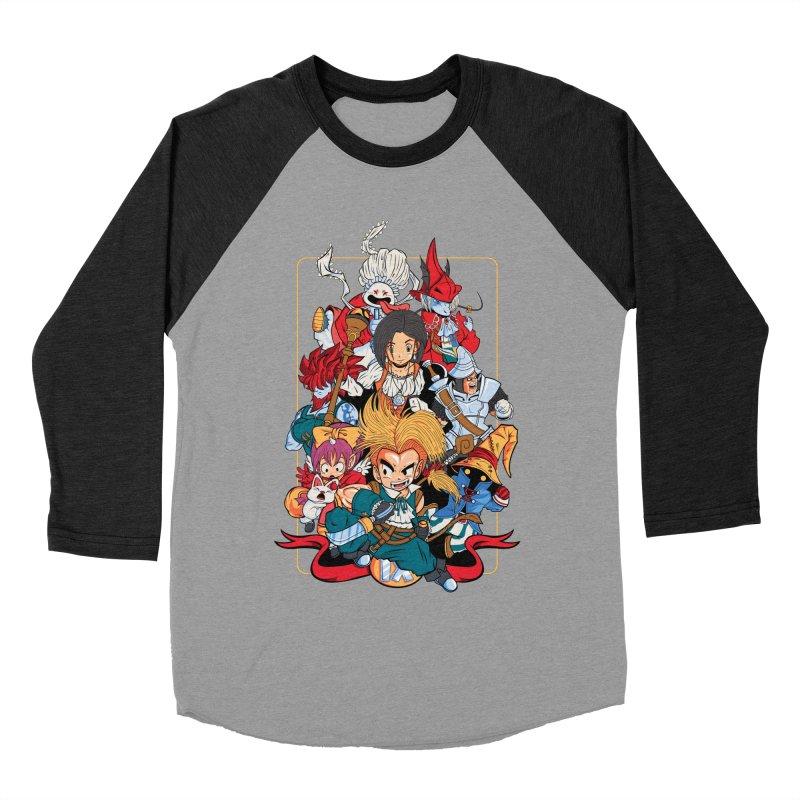 Fantasy Quest IX Men's Baseball Triblend T-Shirt by Pinteezy's Artist Shop