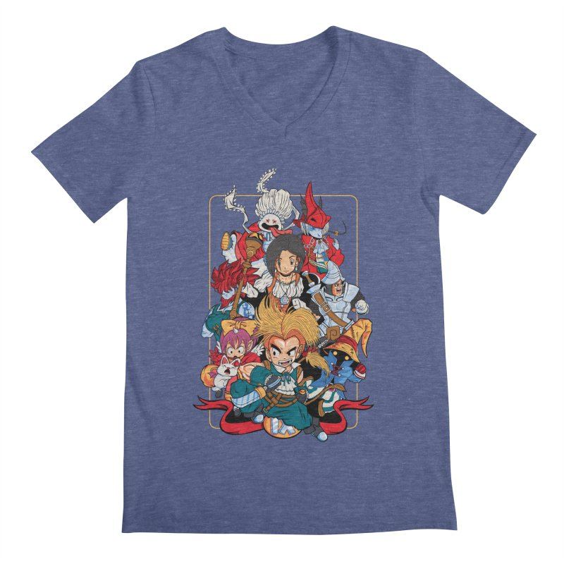 Fantasy Quest IX Men's V-Neck by Pinteezy's Artist Shop